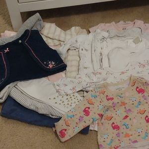 Bundle of girl clothes